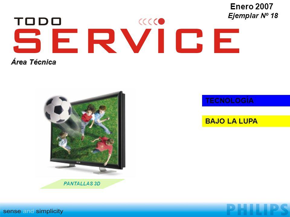 Enero 2007 Ejemplar Nº 18 Área Técnica TECNOLOGÍA BAJO LA LUPA