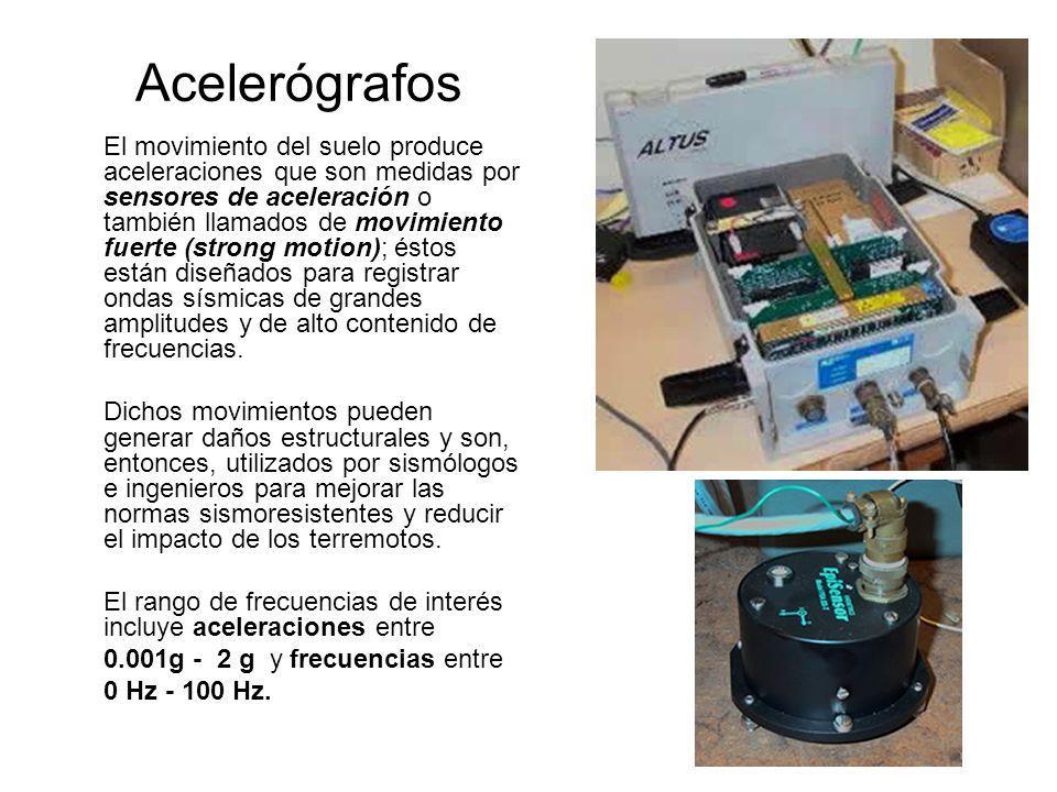 Acelerógrafos
