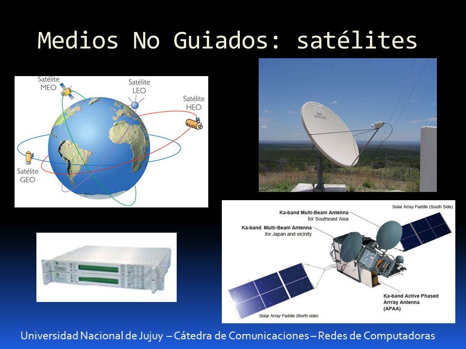 Medios No Guiados: satélites