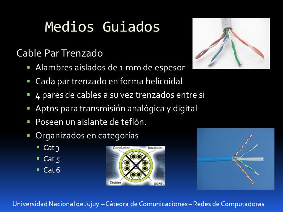 Medios Guiados Cable Par Trenzado Alambres aislados de 1 mm de espesor