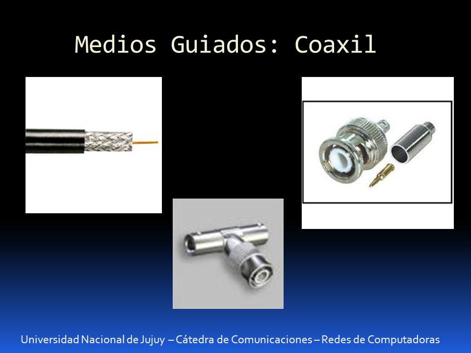 Medios Guiados: Coaxil