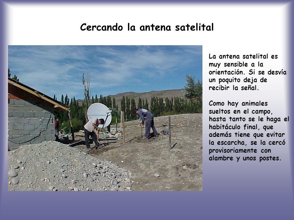 Cercando la antena satelital