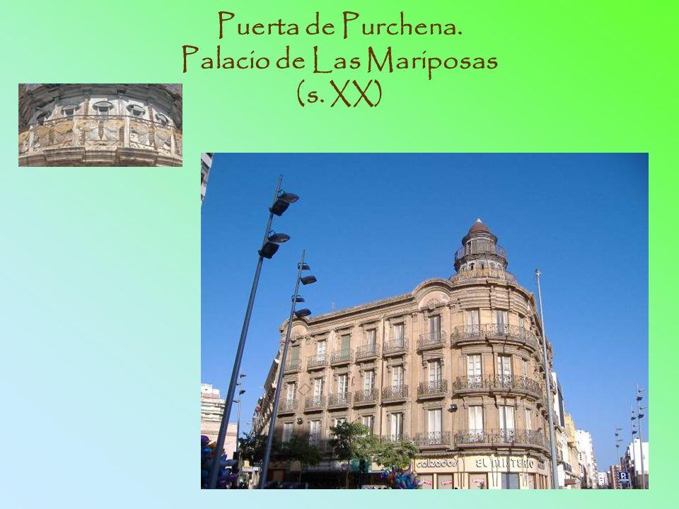 Puerta de Purchena. Palacio de Las Mariposas (s. XX)