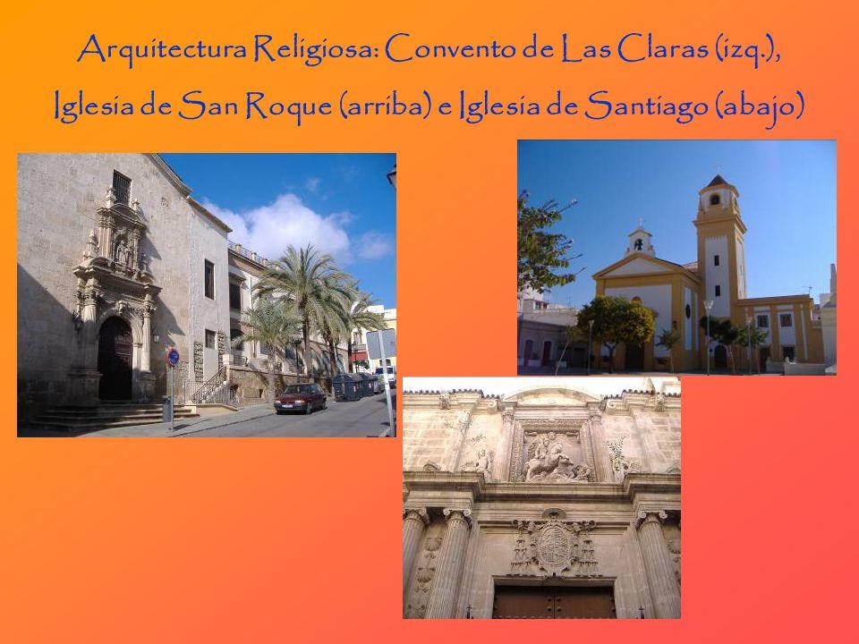 Arquitectura Religiosa: Convento de Las Claras (izq