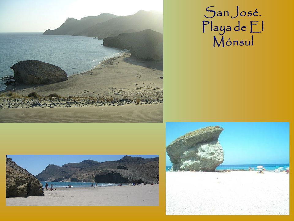 San José. Playa de El Mónsul