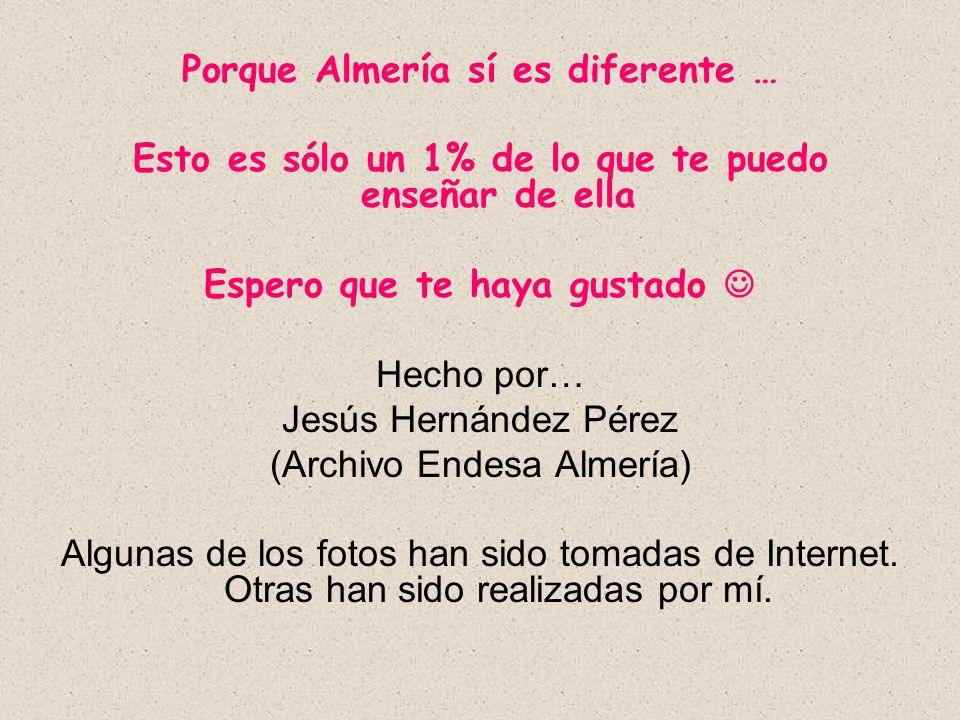 Porque Almería sí es diferente …