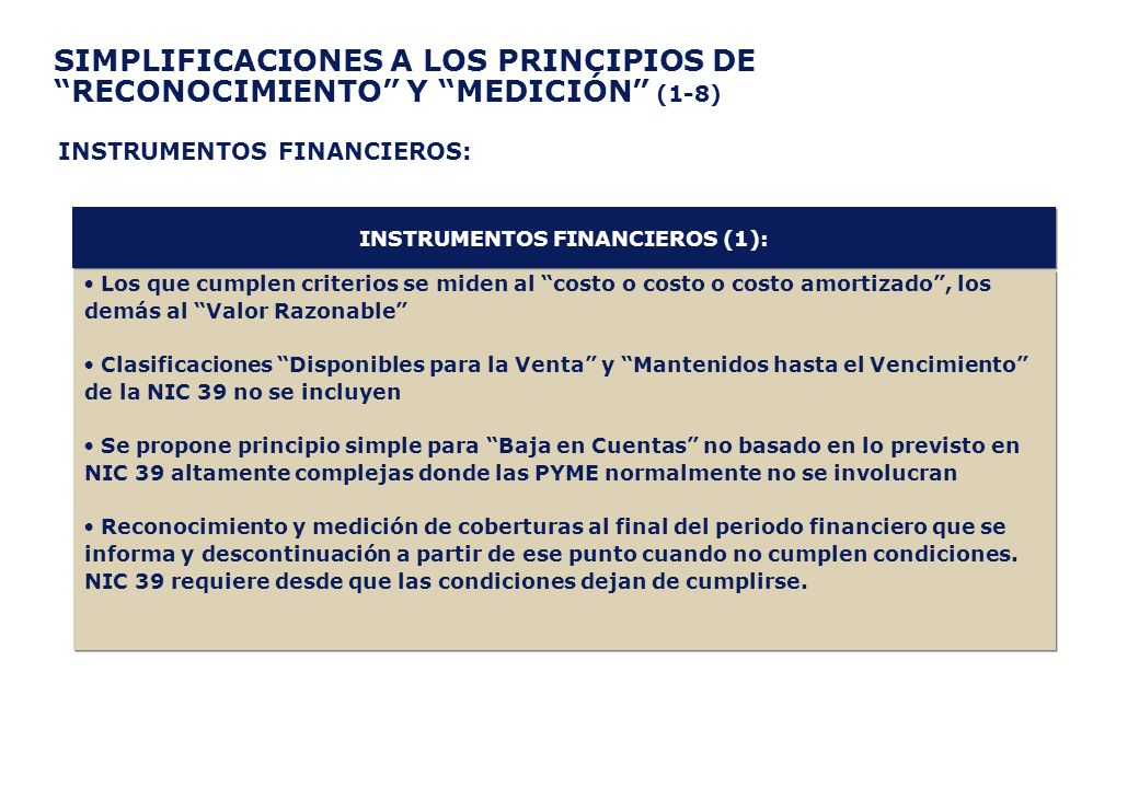 INSTRUMENTOS FINANCIEROS (1):