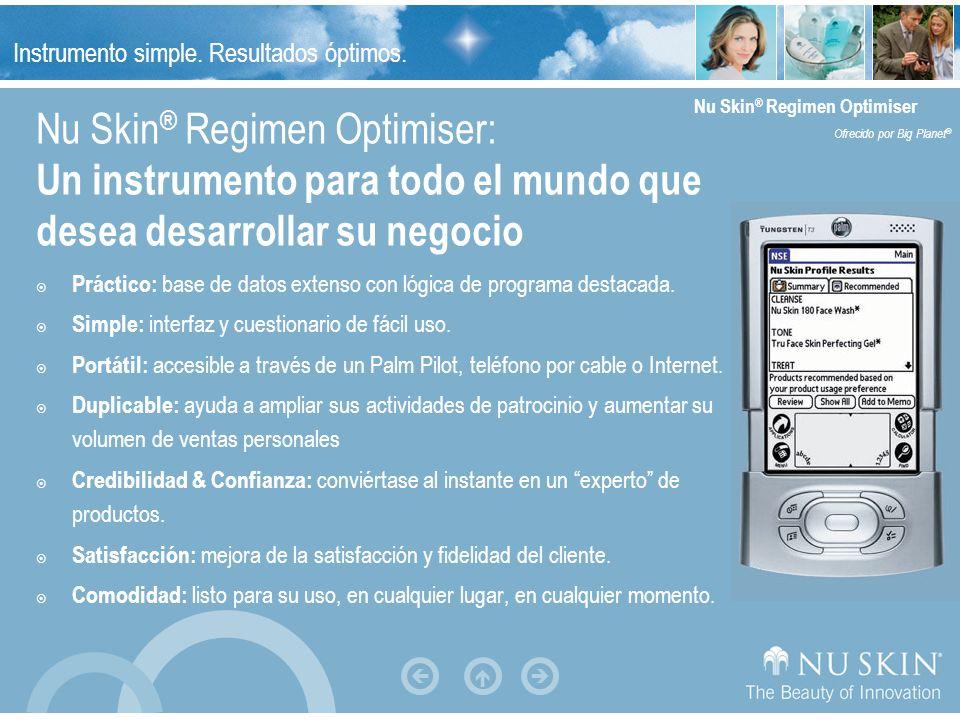 Nu Skin® Regimen Optimiser: Un instrumento para todo el mundo que desea desarrollar su negocio