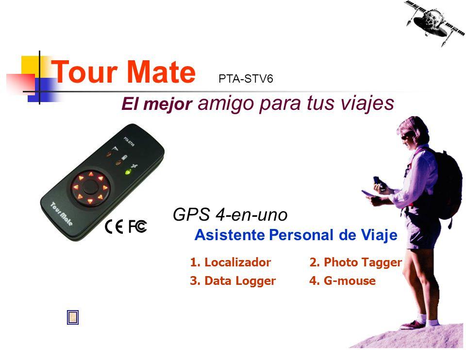 Tour Mate PTA-STV6 El mejor amigo para tus viajes GPS 4-en-uno