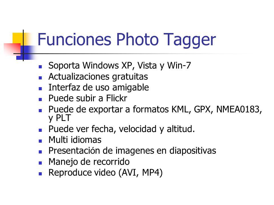 Funciones Photo Tagger