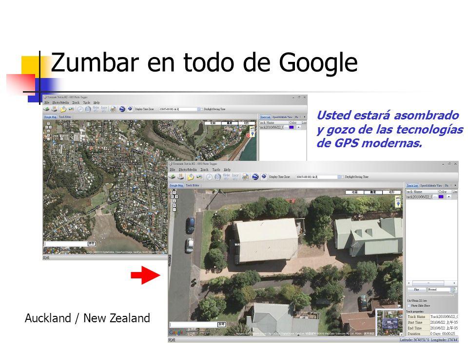 Zumbar en todo de Google