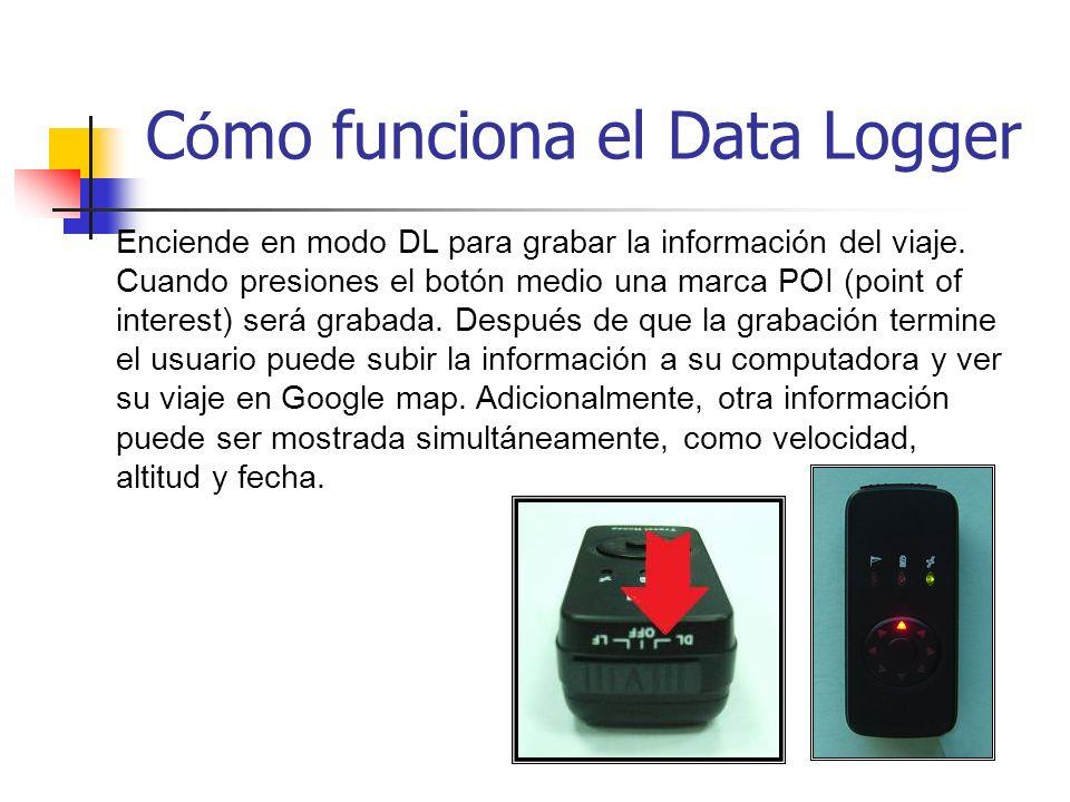 Cómo funciona el Data Logger