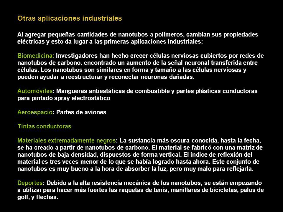 Otras aplicaciones industriales