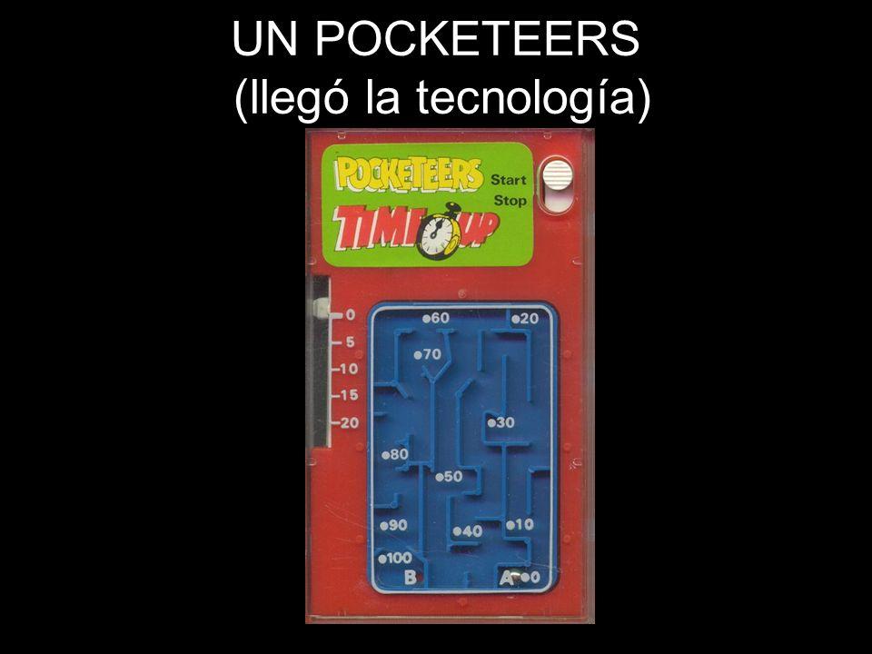 UN POCKETEERS (llegó la tecnología)