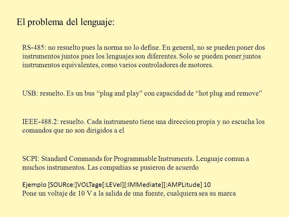 El problema del lenguaje: