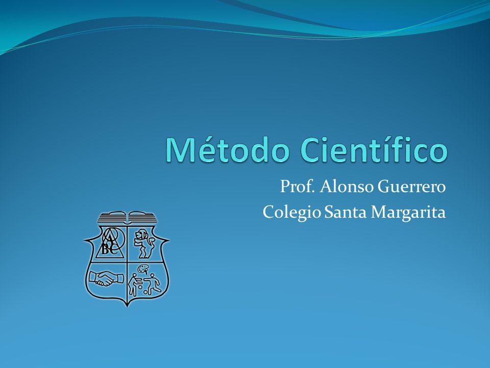 Prof. Alonso Guerrero Colegio Santa Margarita