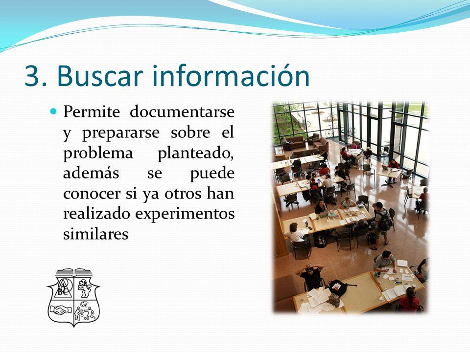 3. Buscar información