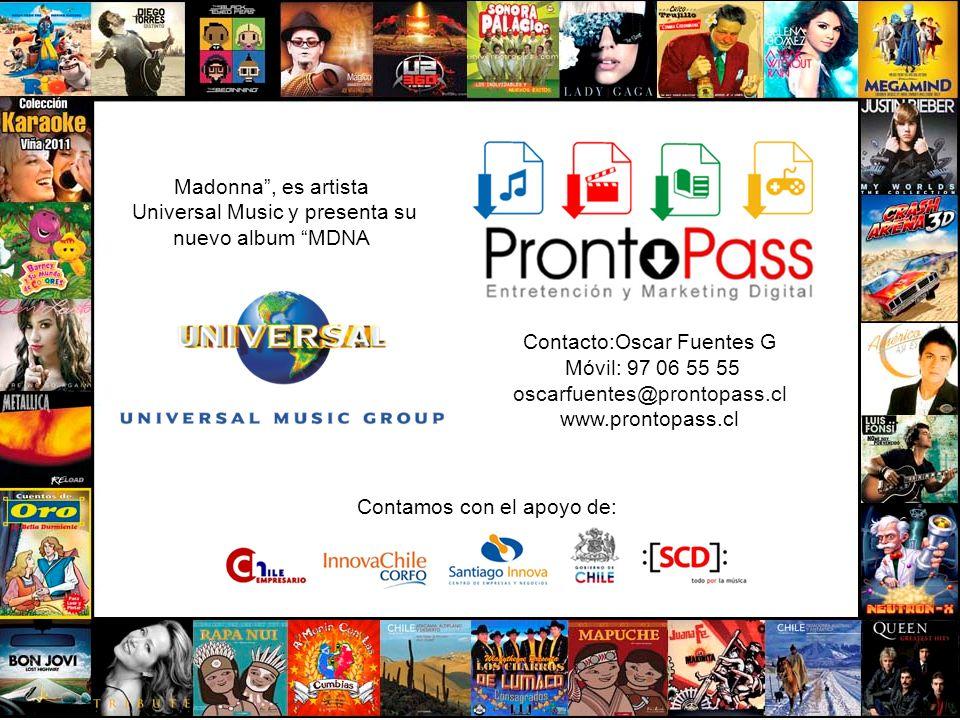 Universal Music y presenta su nuevo album MDNA