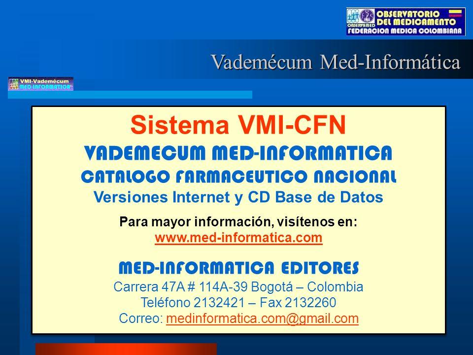 Para mayor información, visítenos en: www.med-informatica.com