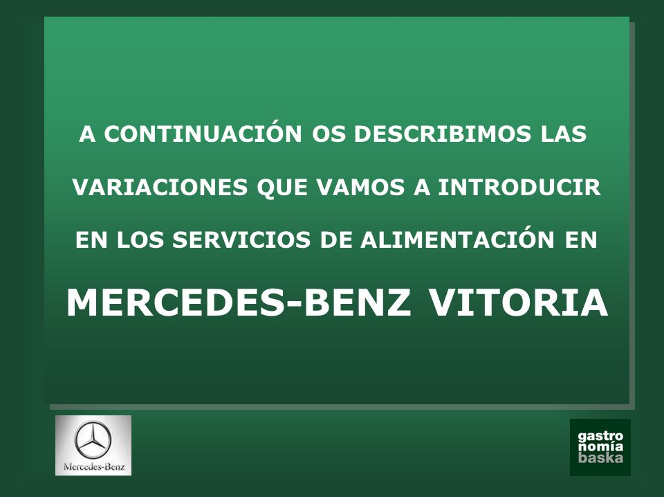 MERCEDES-BENZ VITORIA