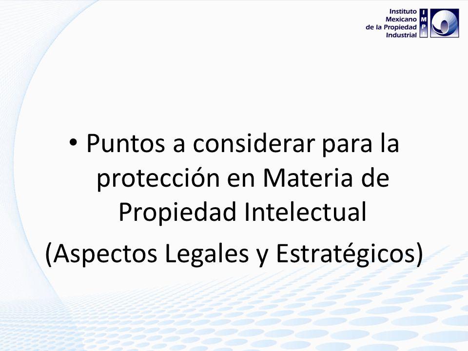 (Aspectos Legales y Estratégicos)