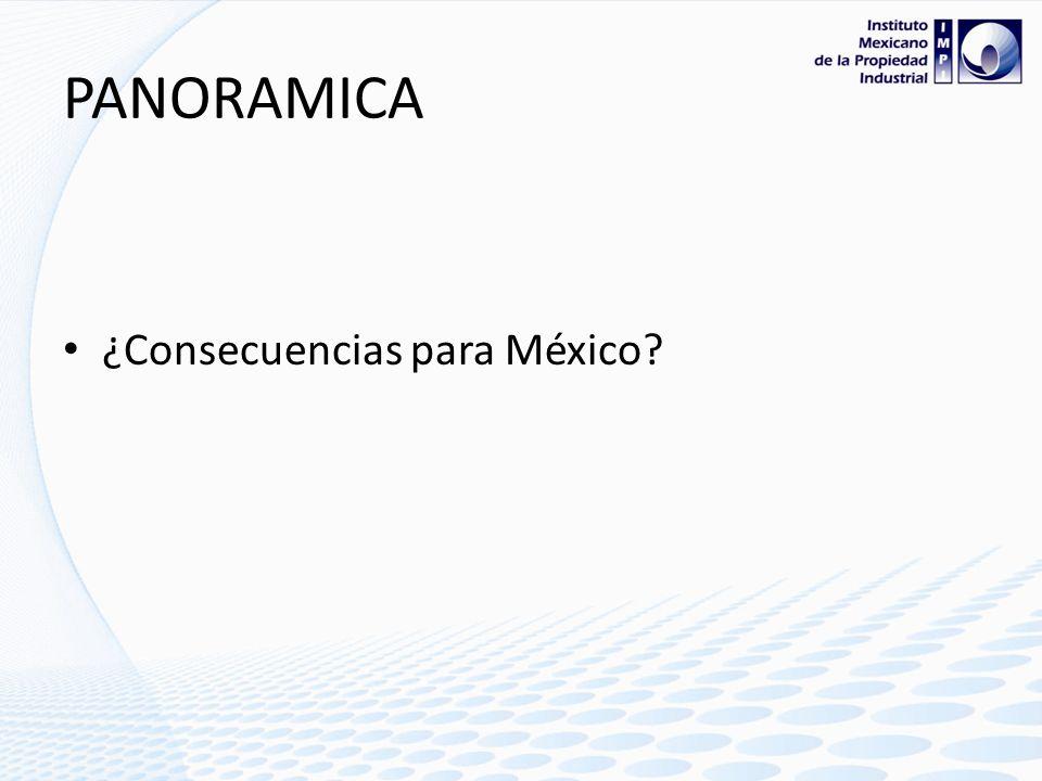 PANORAMICA ¿Consecuencias para México