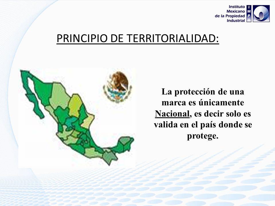 PRINCIPIO DE TERRITORIALIDAD: