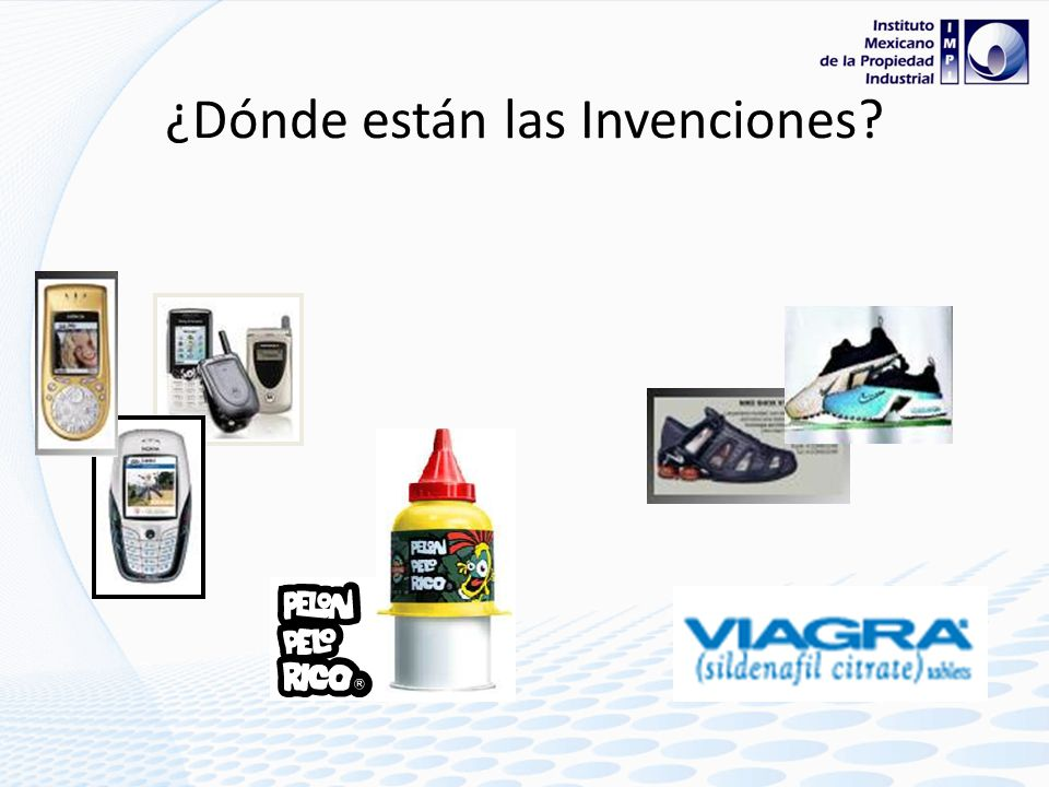 ¿Dónde están las Invenciones