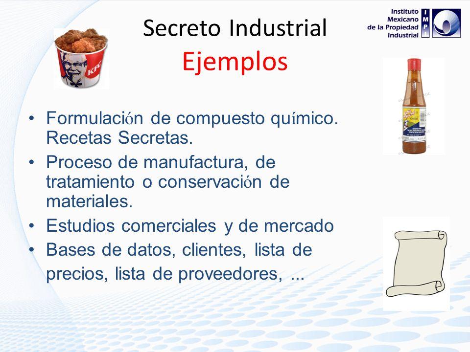 Secreto Industrial Ejemplos