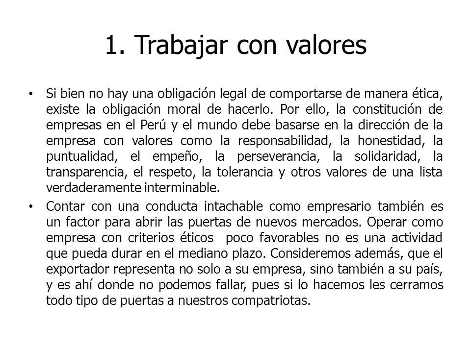 1. Trabajar con valores