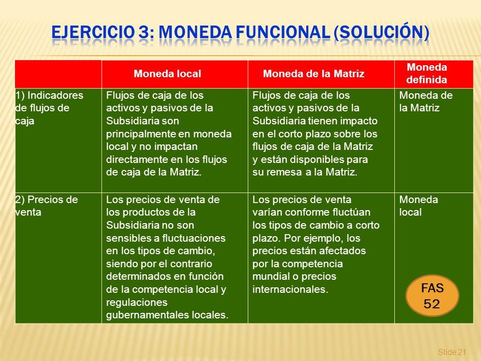 Ejercicio 3: Moneda funcional (solución)