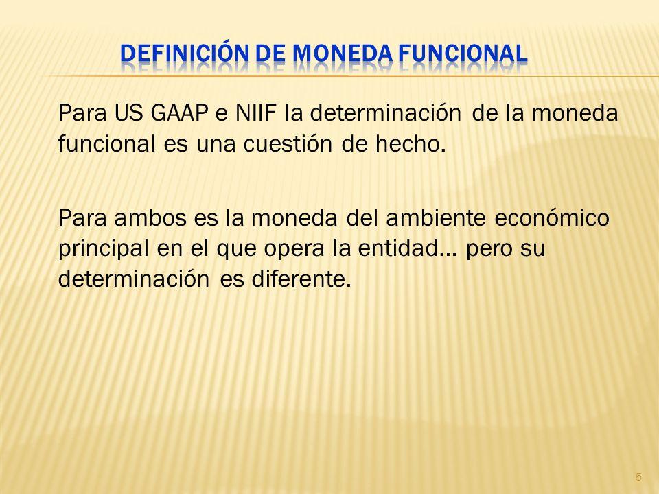 Definición de moneda funcional