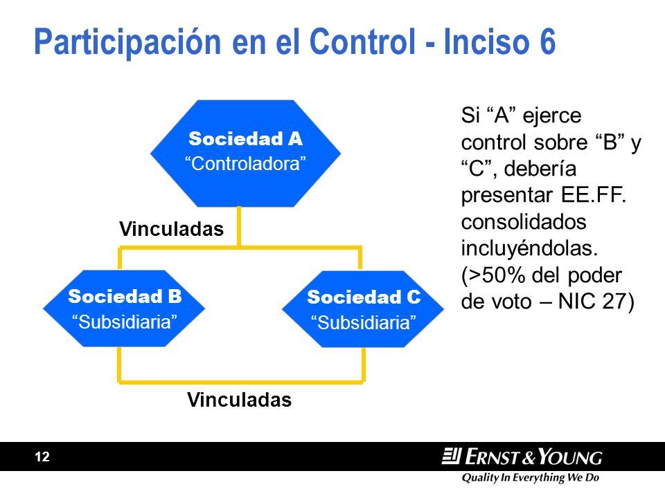Participación en el Control - Inciso 6