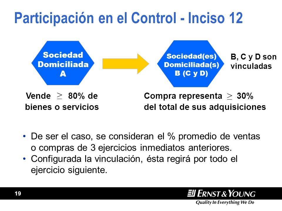 Participación en el Control - Inciso 12
