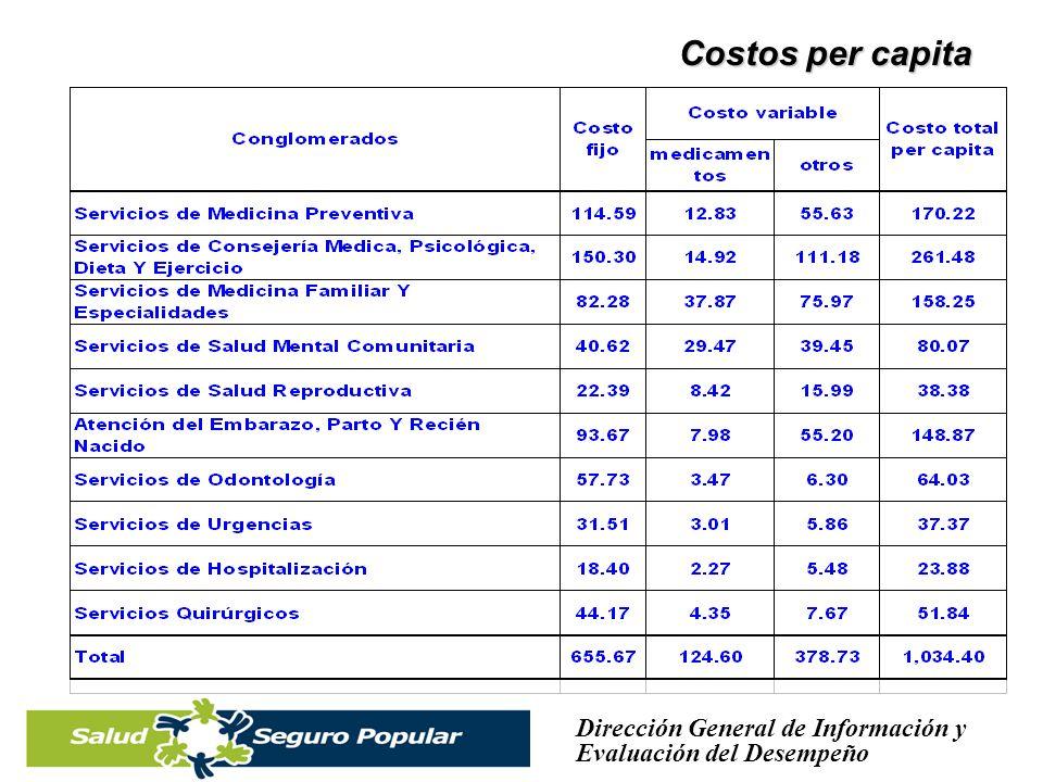 Costos per capita