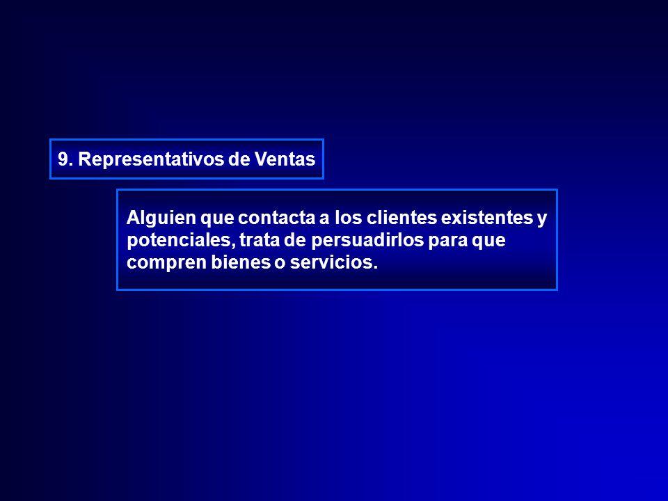 9. Representativos de Ventas