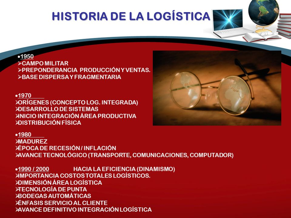 HISTORIA DE LA LOGÍSTICA