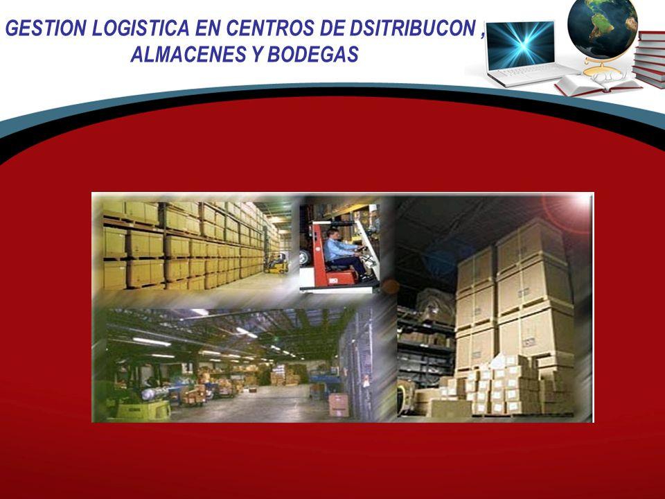GESTION LOGISTICA EN CENTROS DE DSITRIBUCON ,