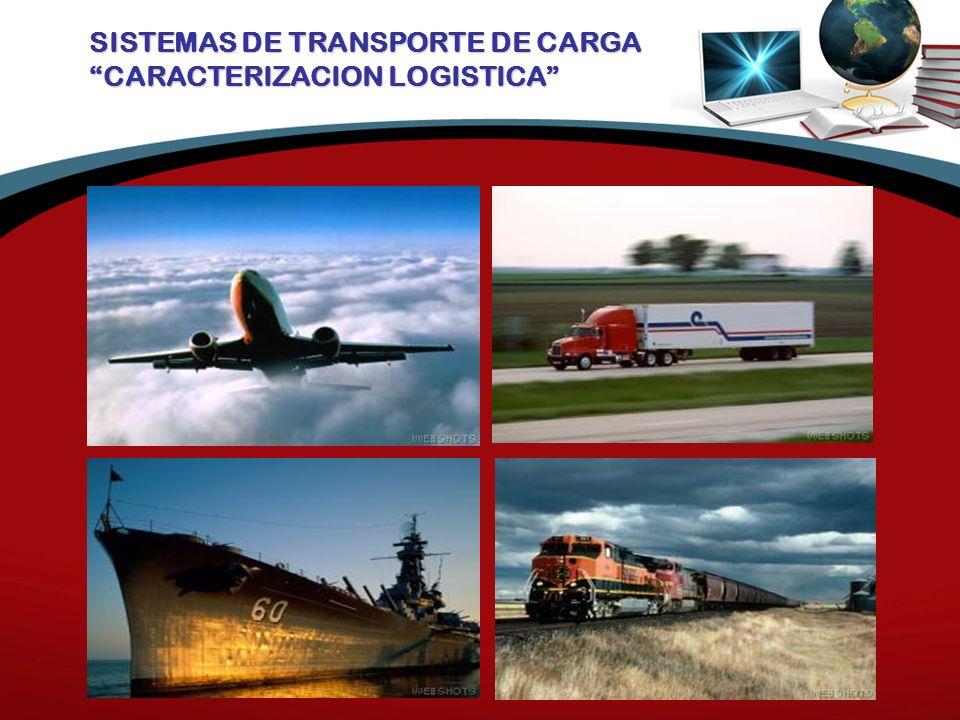 SISTEMAS DE TRANSPORTE DE CARGA CARACTERIZACION LOGISTICA