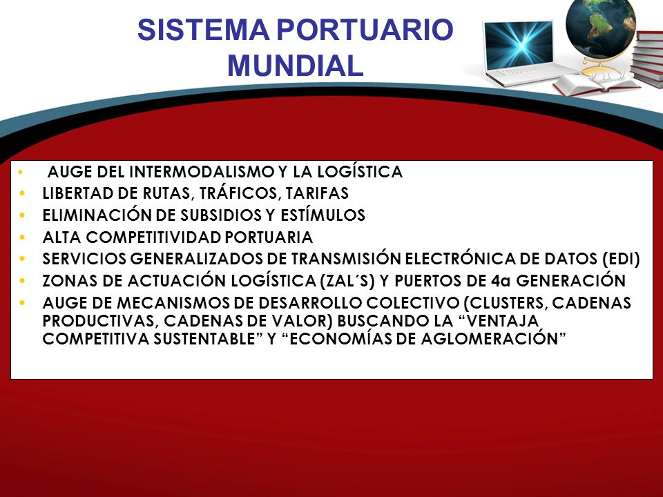 SISTEMA PORTUARIO MUNDIAL