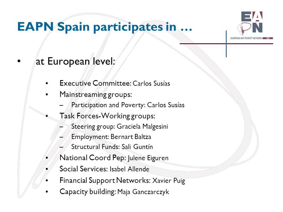 EAPN Spain participates in …