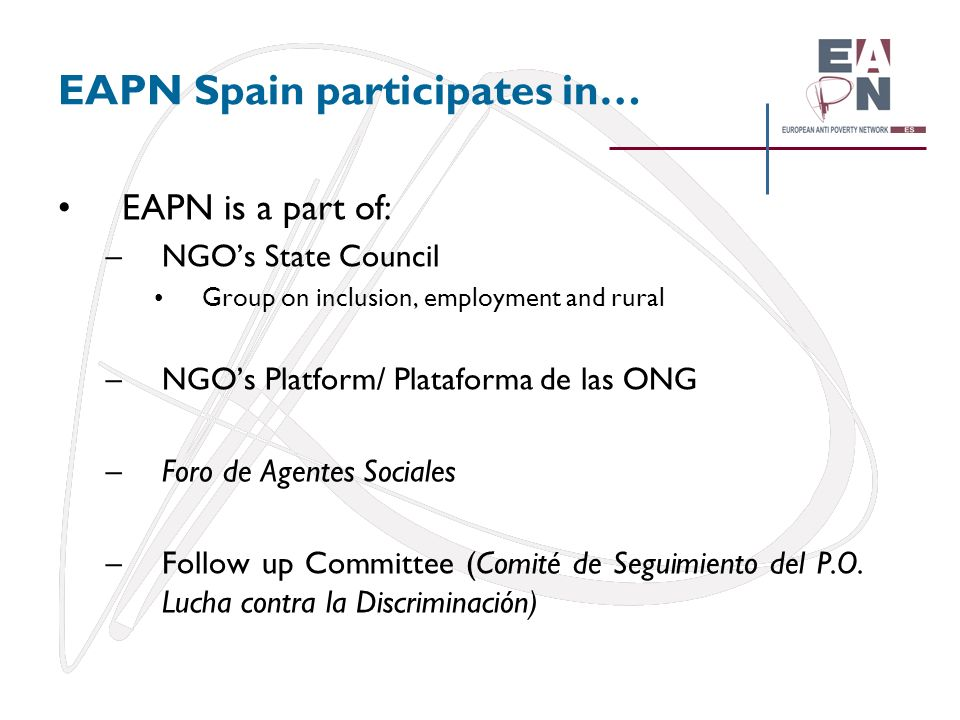 EAPN Spain participates in…