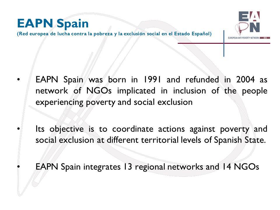 EAPN Spain (Red europea de lucha contra la pobreza y la exclusión social en el Estado Español)