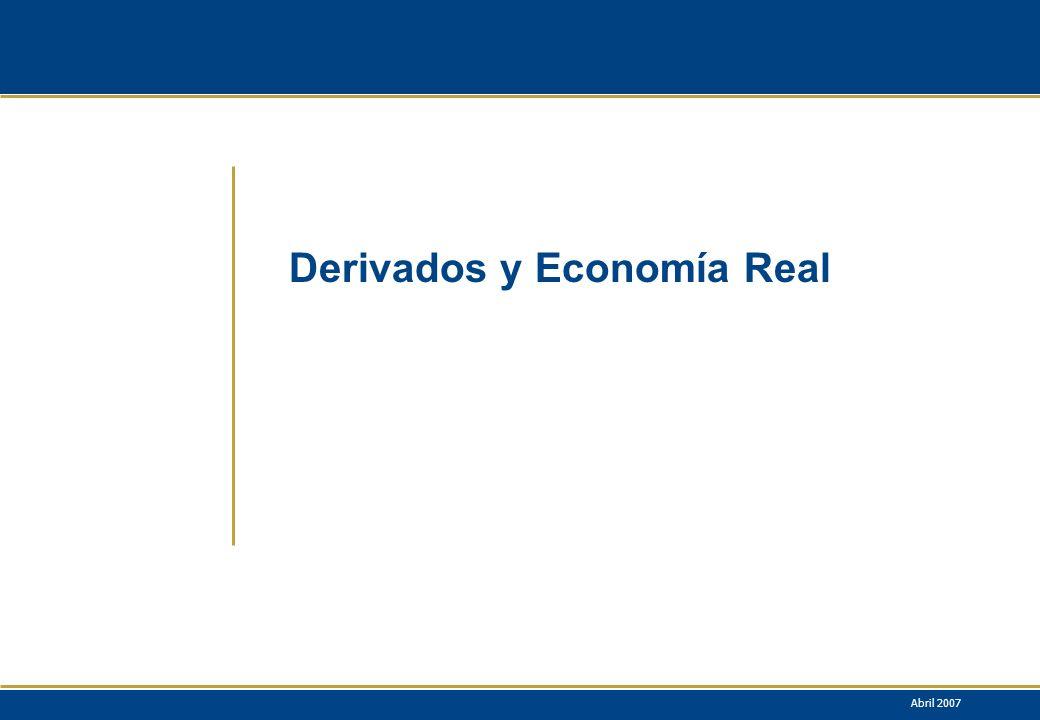 Derivados y Economía Real