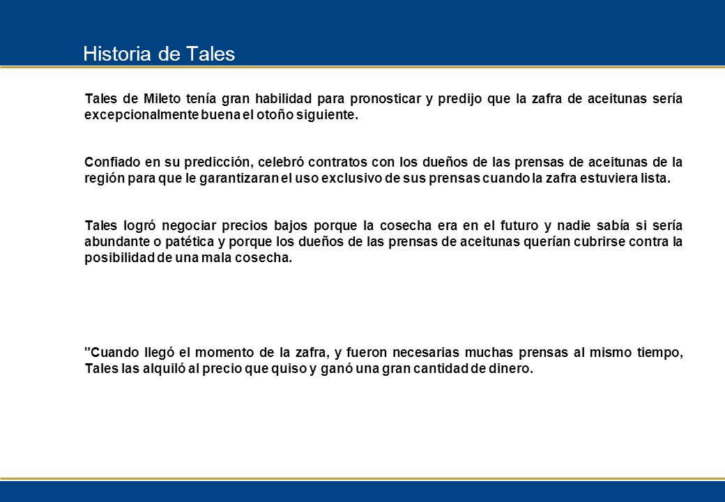 Historia de Tales