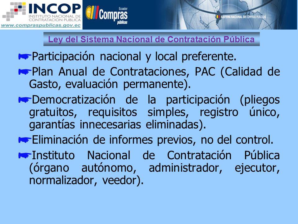 Ley del Sistema Nacional de Contratación Pública