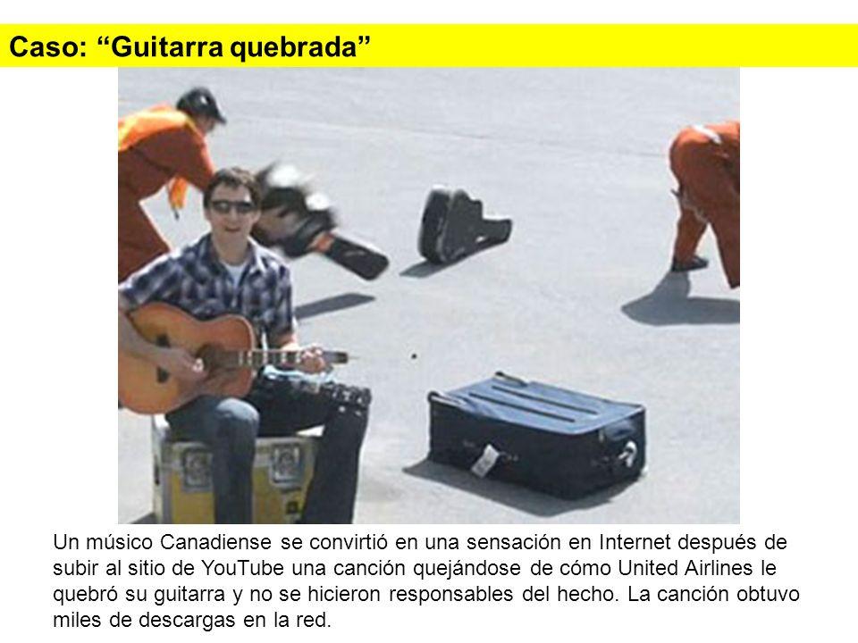 Caso: Guitarra quebrada