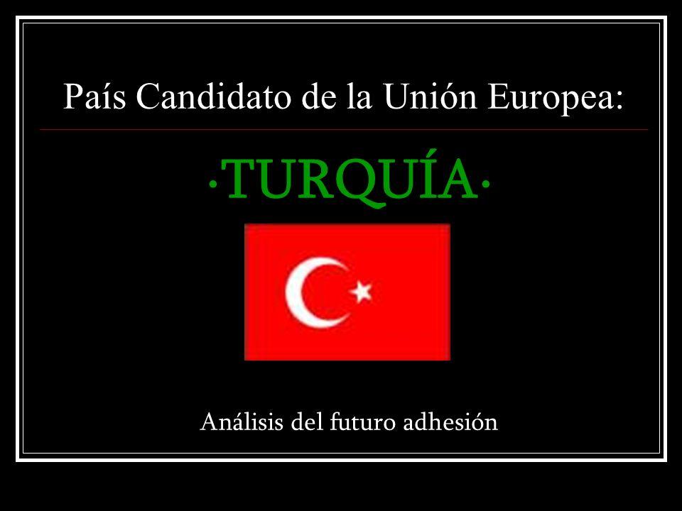 País Candidato de la Unión Europea: