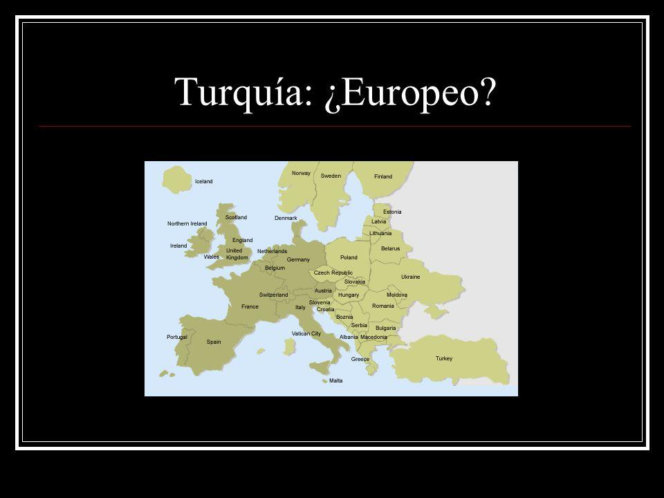 Turquía: ¿Europeo