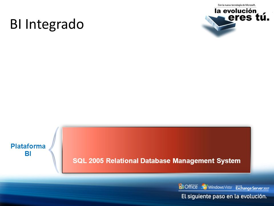 SQL 2005 Relational Database Management System